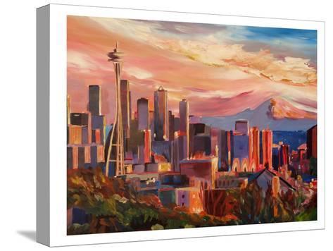 Seattle2-M Bleichner-Stretched Canvas Print