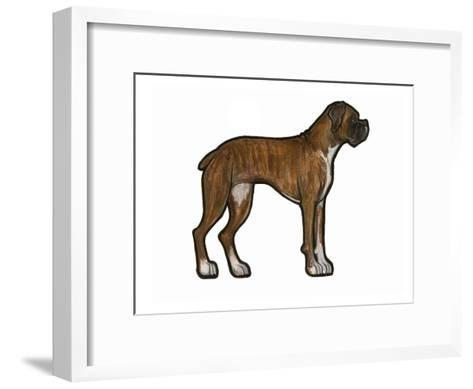 Boxer 2-Sally Pattrick-Framed Art Print
