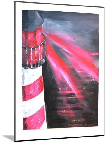 Lighthouse-Cara Francis-Mounted Art Print