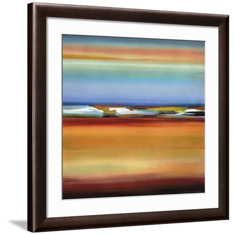 Horizons 2-Barry Osbourn-Framed Art Print