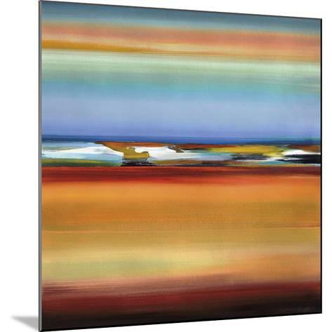 Horizons 2-Barry Osbourn-Mounted Art Print