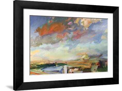 The Tipsy Philosopher- Beauchamp-Framed Art Print