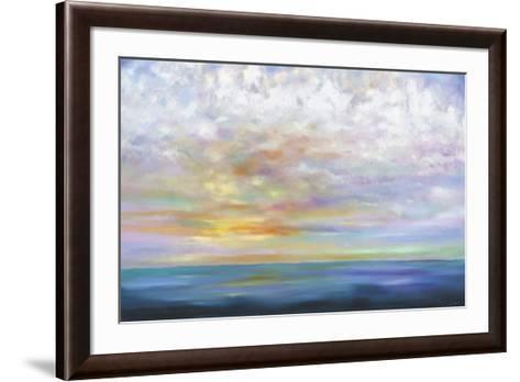 Orange Skies- Johnston-Framed Art Print