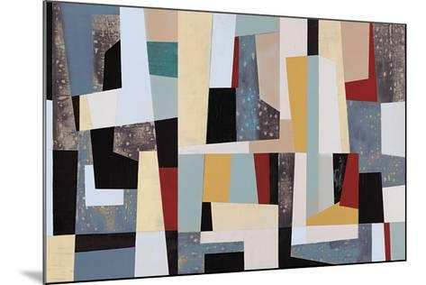 Moderne Right- Long-Mounted Giclee Print