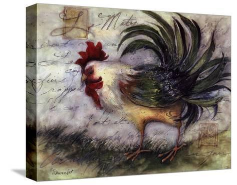 Le Rooster IV-Susan Winget-Stretched Canvas Print
