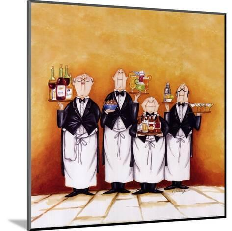 Happy Hour!-Tracy Flickinger-Mounted Art Print
