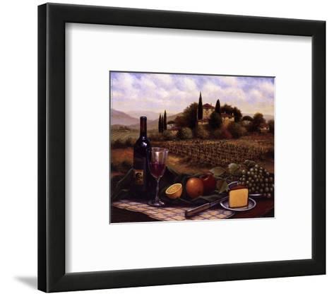 Terrace At Chianti-Unknown-Framed Art Print