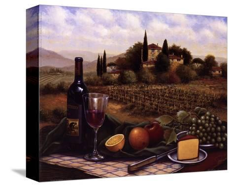 Terrace At Chianti-Unknown-Stretched Canvas Print