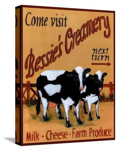 Bessie's Creamery-Grace Pullen-Stretched Canvas Print