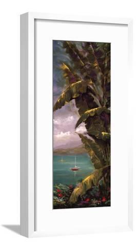 Palm Cove II-J^ Martin-Framed Art Print