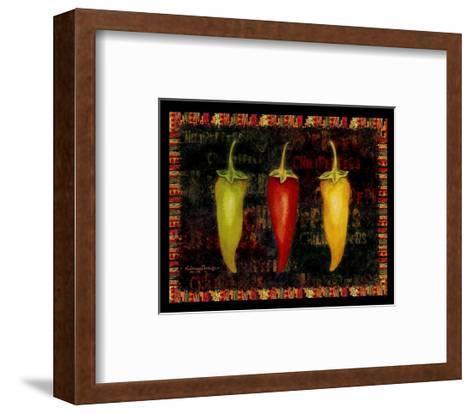 Red Hot Chili Peppers II-Kathleen Denis-Framed Art Print