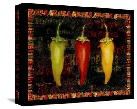 Red Hot Chili Peppers II-Kathleen Denis-Stretched Canvas Print