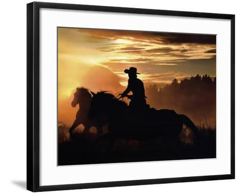 Sunset Glow-Bobbie Goodrich-Framed Art Print