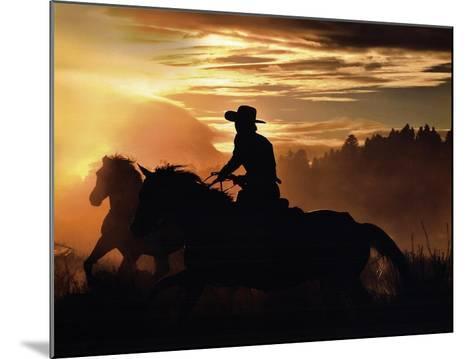 Sunset Glow-Bobbie Goodrich-Mounted Art Print