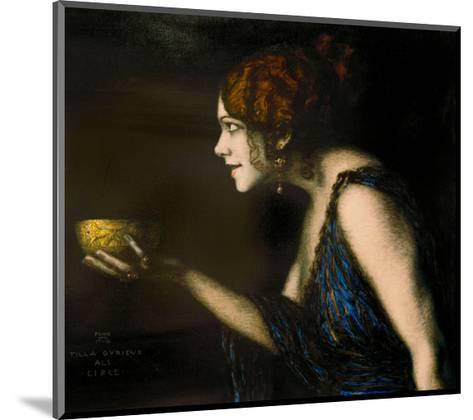 """Role in """"Circe"""" by Pedro Calderon de la Barca, 1912/13-Franz von Stuck-Mounted Giclee Print"""
