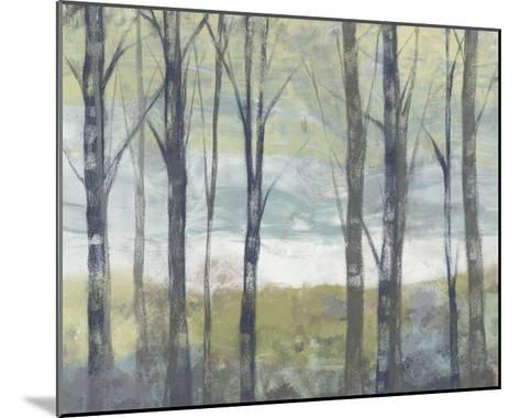 Pastel Birches II-Jennifer Goldberger-Mounted Art Print