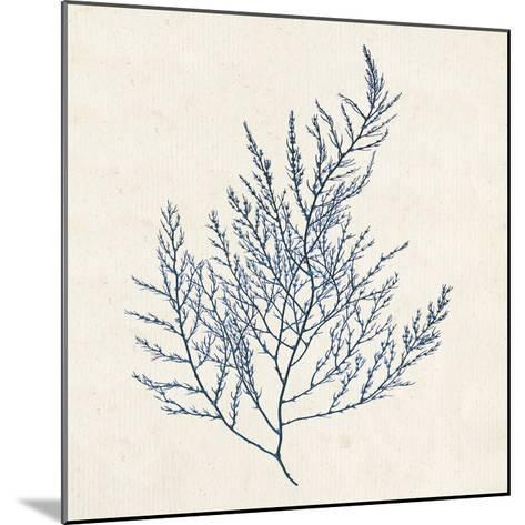 Indigo Algae I-Jennifer Goldberger-Mounted Art Print