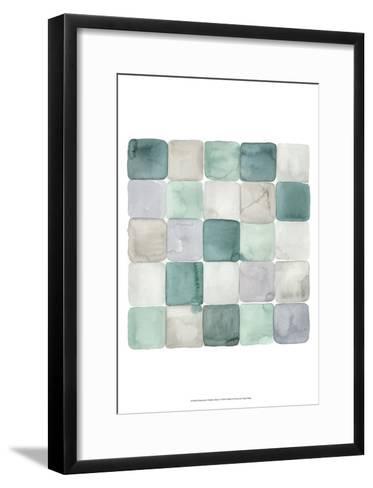 Watercolor Window Panes I-Grace Popp-Framed Art Print