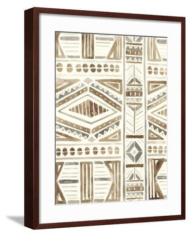 Tribal Impressions II-June Erica Vess-Framed Art Print