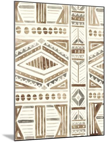 Tribal Impressions II-June Erica Vess-Mounted Giclee Print
