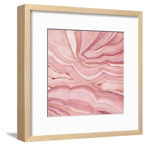 Pastel Agate III-Megan Meagher-Framed Art Print