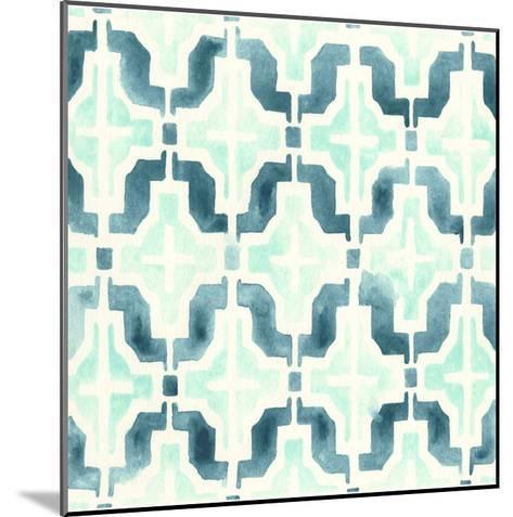 Ocean Tile IV-June Erica Vess-Mounted Giclee Print