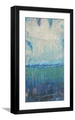 Blue Movement I-Tim O'toole-Framed Art Print