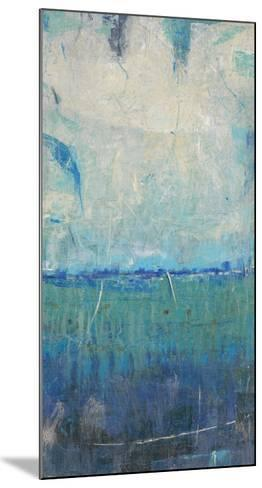 Blue Movement I-Tim O'toole-Mounted Art Print