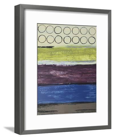 Grape Soda II-Natalie Avondet-Framed Art Print