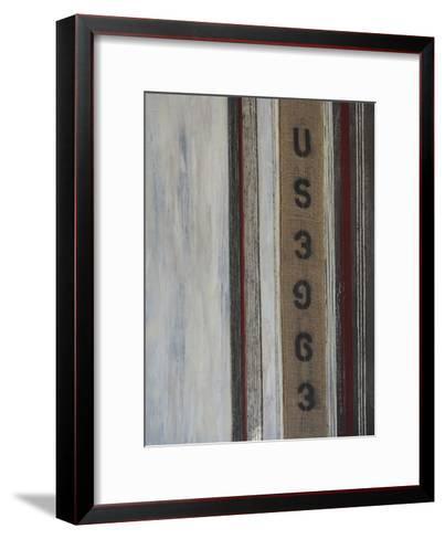 Code Words II-Natalie Avondet-Framed Art Print