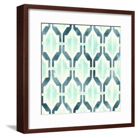 Ocean Tile VI-June Erica Vess-Framed Art Print