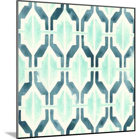 Ocean Tile VI-June Erica Vess-Mounted Giclee Print