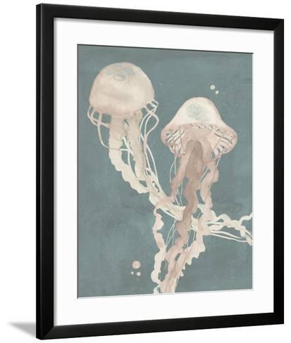 Jellyfish Dance I-Grace Popp-Framed Art Print
