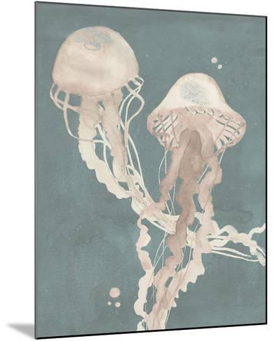 Jellyfish Dance I-Grace Popp-Mounted Giclee Print