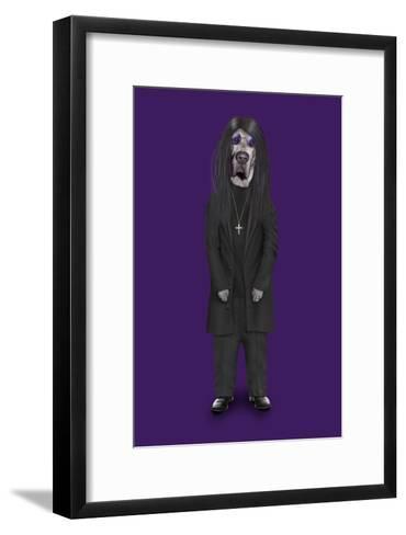 Metal (Pets Rock)-Takkoda-Framed Art Print