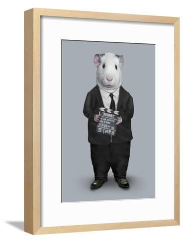 Director (Pets Rock)-Takkoda-Framed Art Print