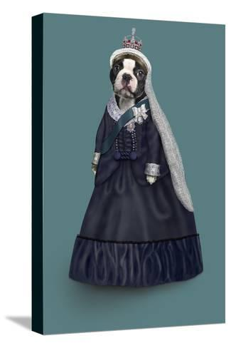 Queen Vic (Pets Rock)-Takkoda-Stretched Canvas Print