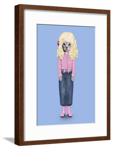 Country (Pets Rock)-Takkoda-Framed Art Print