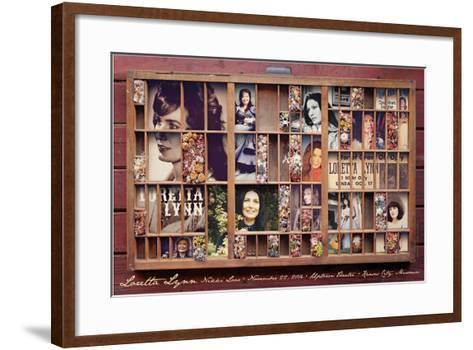 Loretta Lynn-Kii Arens-Framed Art Print
