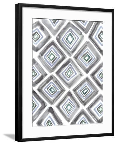 Geometric Daze-Lottie Fontaine-Framed Art Print
