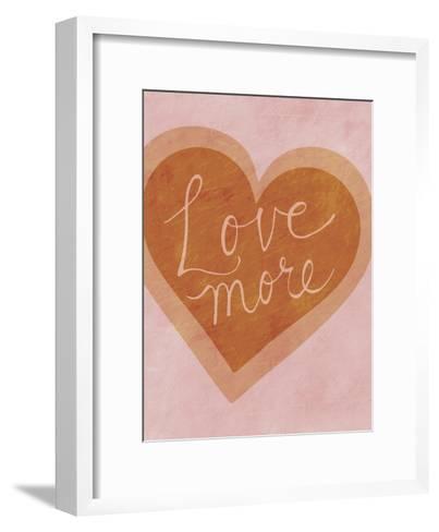 Love More-Lottie Fontaine-Framed Art Print