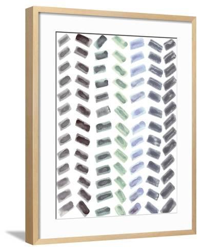 Geometric Dance-Lottie Fontaine-Framed Art Print