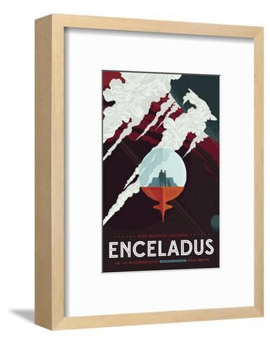 Enceladus-Vintage Reproduction-Framed Art Print