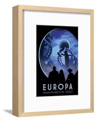 Europa-Vintage Reproduction-Framed Art Print