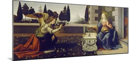 The Annunciation, ca. 1472-Leonardo Da Vinci-Mounted Art Print