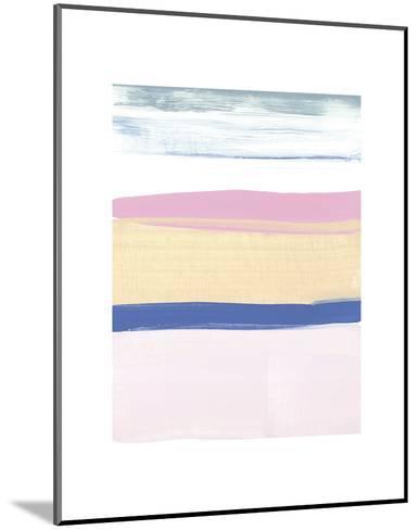 Pink Sands II-Cathe Hendrick-Mounted Art Print
