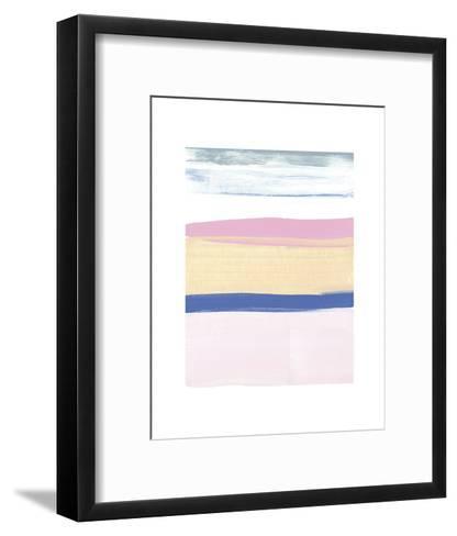 Pink Sands II-Cathe Hendrick-Framed Art Print
