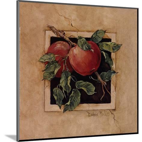 Apple Square-Barbara Mock-Mounted Art Print