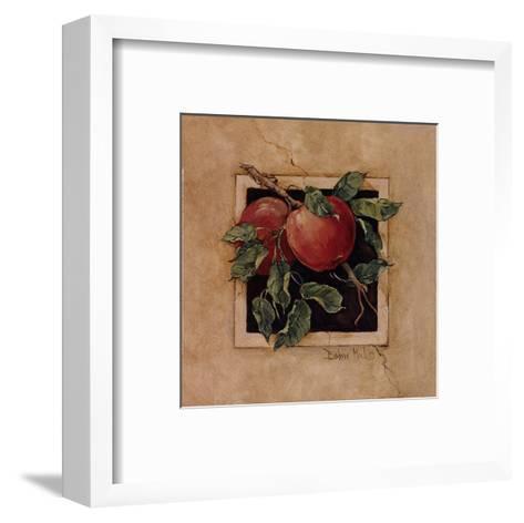 Apple Square-Barbara Mock-Framed Art Print