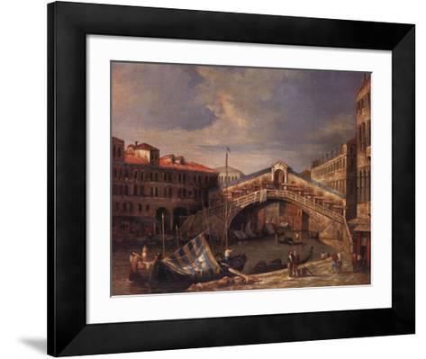 Venice Bridge-Paul Stanley-Framed Art Print